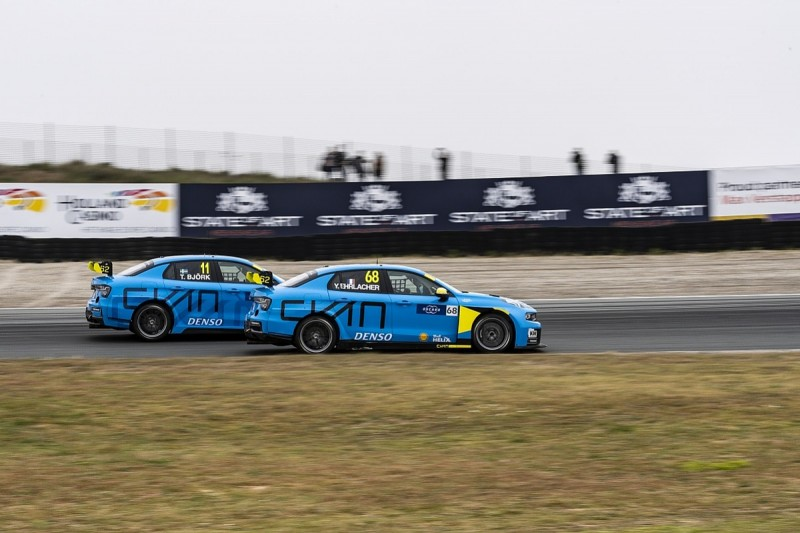 WTCR Cyan drivers' confusing double swap at Zandvoort explained