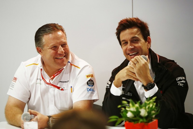 McLaren can fight Mercedes in F1 with same engine