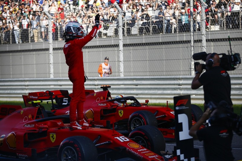 Russian GP: Leclerc beats Hamilton to seal fourth straight F1 pole