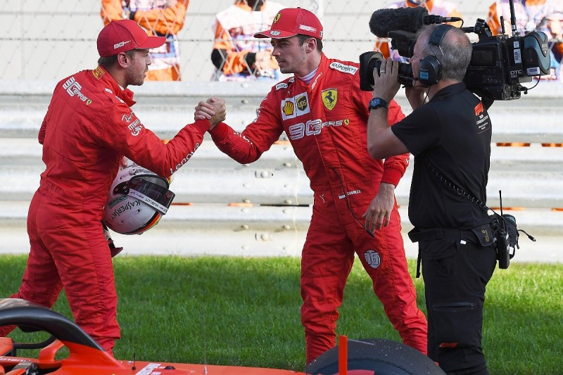 Vettel says no pattern in qualifying defeats by F1 team-mate Leclerc