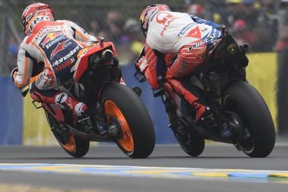 "Miller got ""carried away"" battling Marquez in Le Mans MotoGP race"