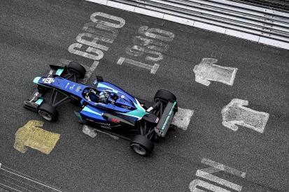 Carlin's Billy Monger won Pau Grand Prix with broken steering