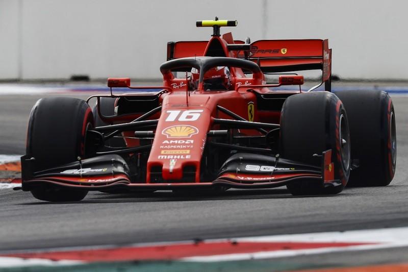 Russian Grand Prix: Ferrari's Leclerc back on top in final practice