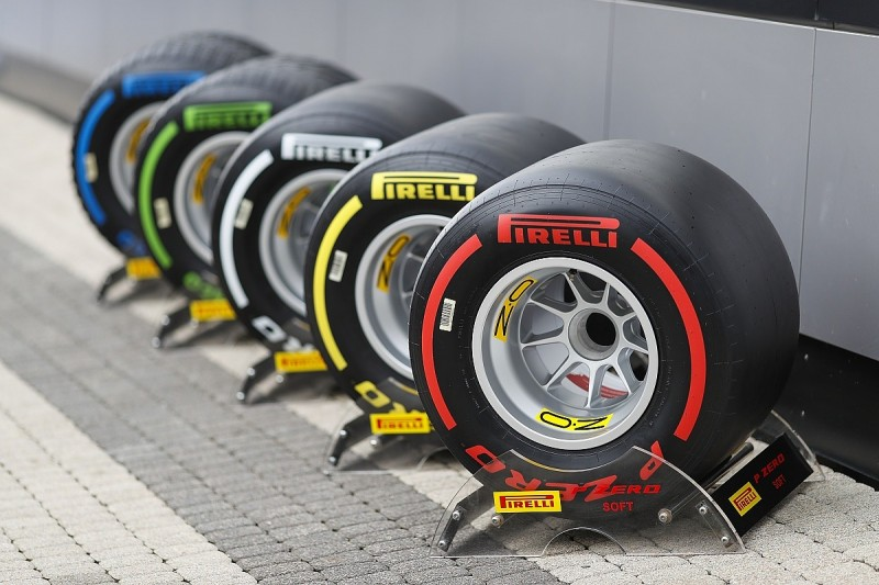 F1 teams to trial 2020 tyres in US GP practice