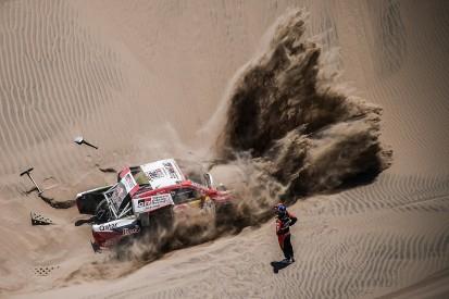 Toyota drivers slam 'unfair' Dakar Rally tyre rules