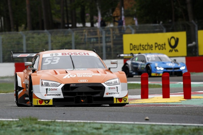 Green: Not trying Zolder DTM podium overtake would've been cowardly