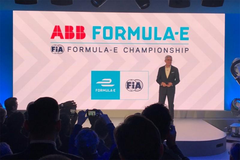 Formula E lands 'historic' title sponsorship deal