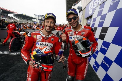 "Dovizioso glad Ducati MotoGP team avoided ""F1"" team orders in France"