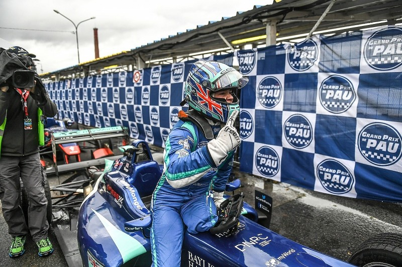 Billy Monger earns his first single-seater win in Pau Grand Prix