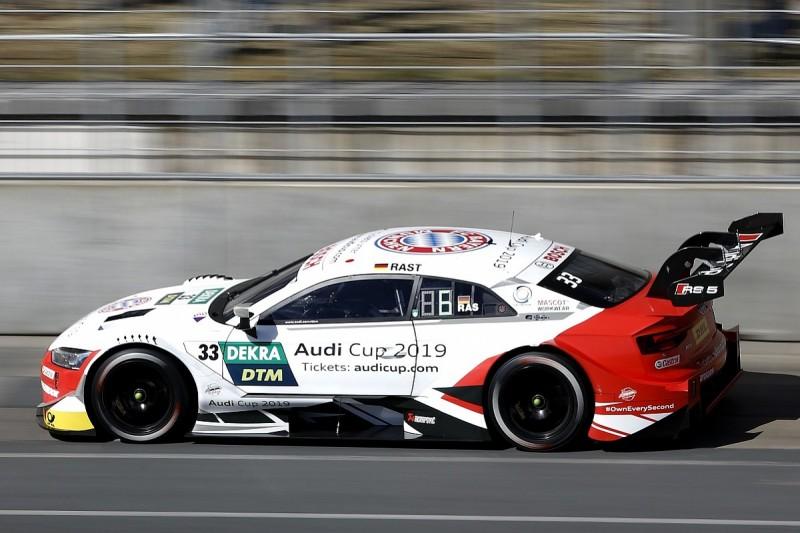 Three-time Le Mans winner Treluyer in Audi's Fuji DTM/SUPER GT fold