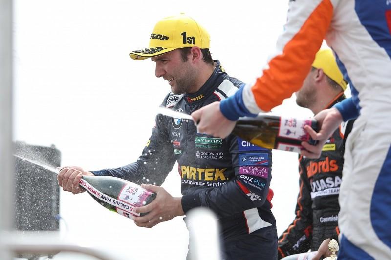 Thruxton BTCC: Andrew Jordan wins for WSR BMW in race one
