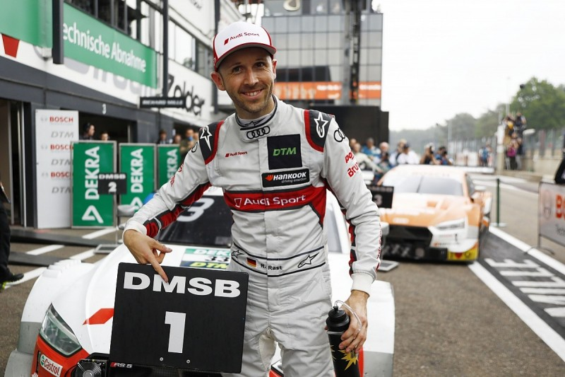 Zolder DTM: Rene Rast wins race two for Audi