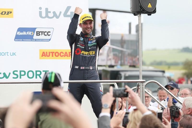 Thruxton BTCC: Jordan leads Turkington in WSR BMW one-two