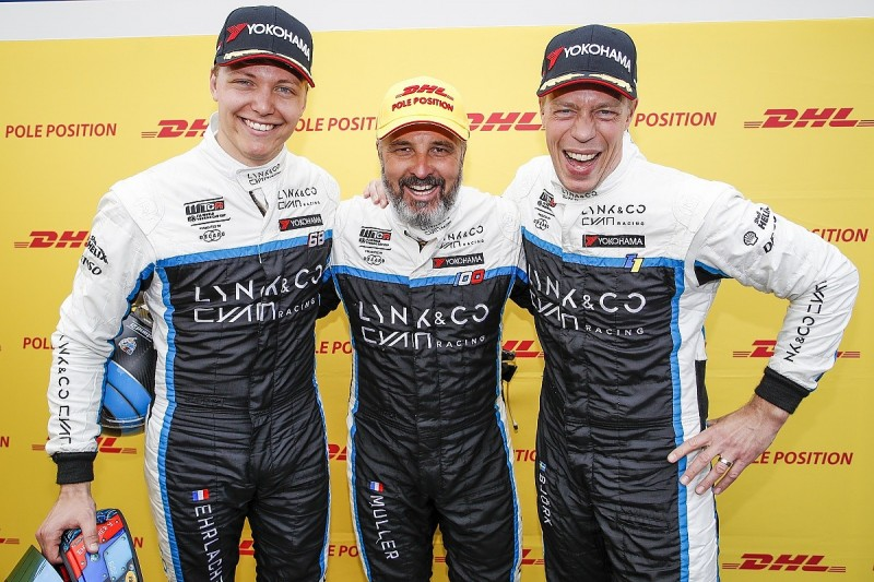 Zandvoort WTCR: Yvan Muller takes first pole with Cyan's Lynk & Co