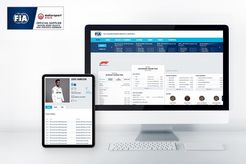 FIA Database now in the hands of the fans!