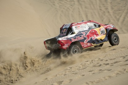 Al-Attiyah takes second Dakar stage win, Hirvonen out of contention
