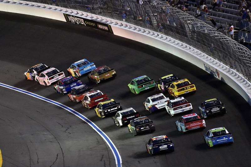 """Newman and Bowyer in """"embarrassing"""" fight after NASCAR All-Star race"""