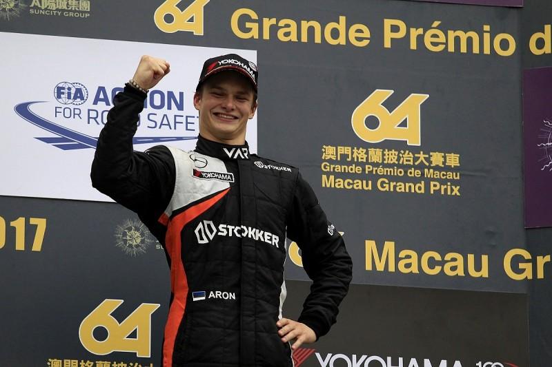 Prema adds Macau star Ralf Aron to 2018 European Formula 3 line-up