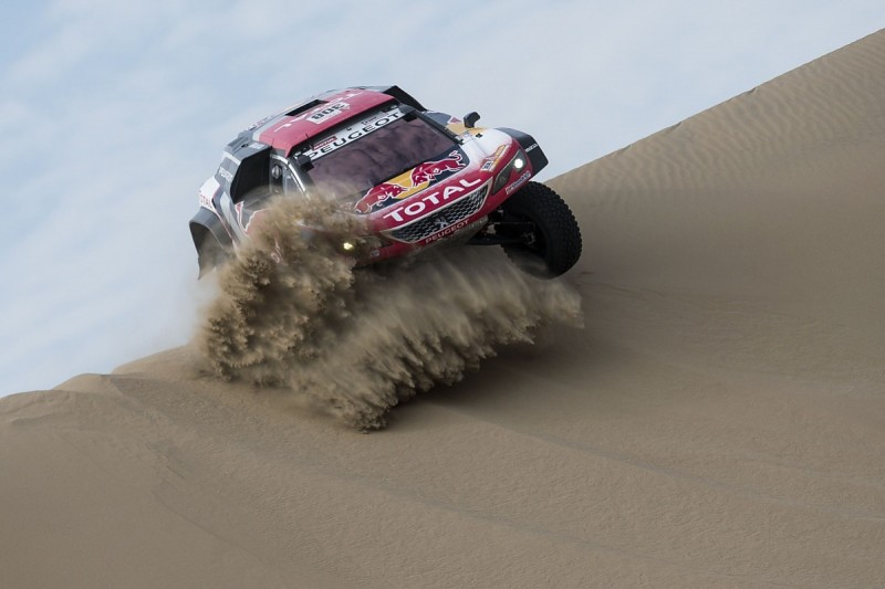 Cyril Despres moves into 2018 Dakar Rally lead for Peugeot