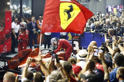 """Winning title """"only way for Ferrari to be back"""" in F1, says Vettel"""