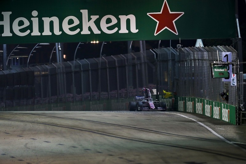 Racing Point's Singapore retirement call saved Perez's F1 engine