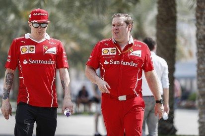 Kimi Raikkonen's race engineer leaves Ferrari Formula 1 team