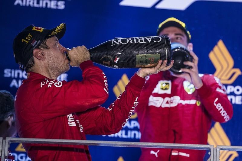 "Vettel/Leclerc Ferrari situation has ""escalation"" potential - Wolff"