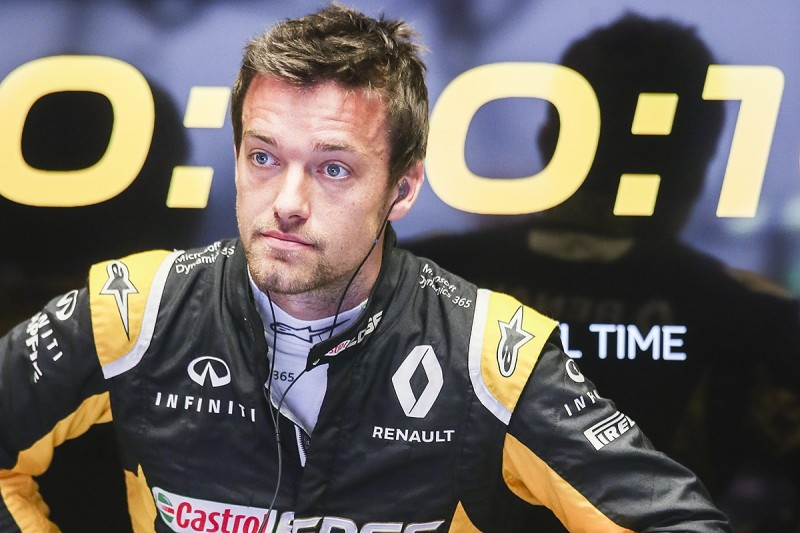 Renault F1 team says Jolyon Palmer deserves seat in 'world class' series