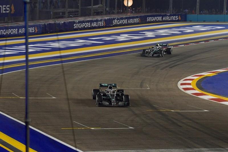 Lewis Hamilton suggests fix to improve F1 Singapore GP's racing