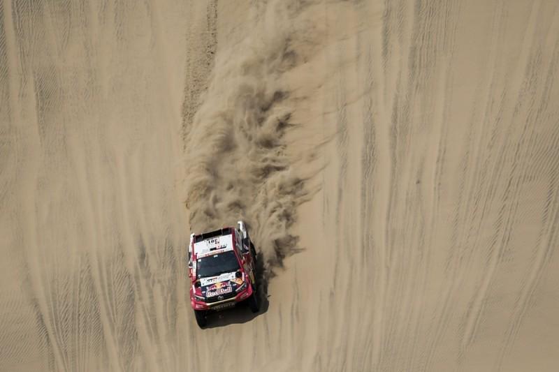 Dakar Rally: Al-Attiyah takes early lead for Toyota, Loeb delayed