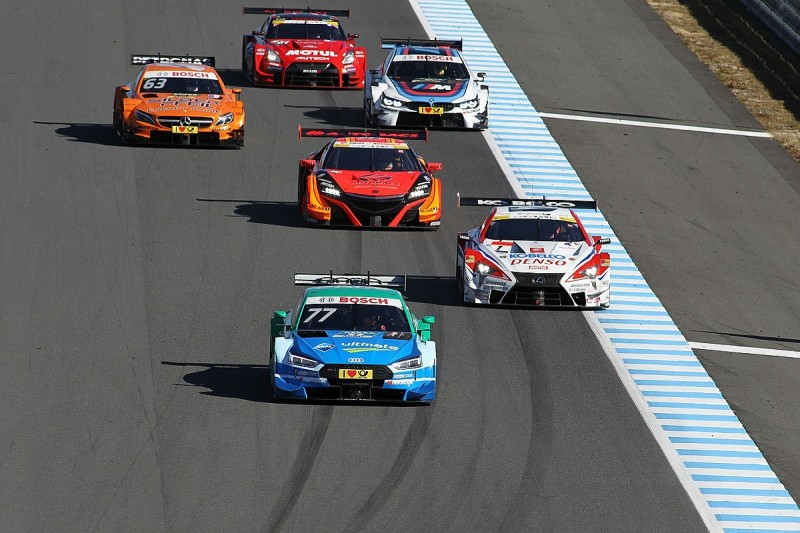 Four Audis, three BMWs in joint DTM SUPER GT race at Fuji