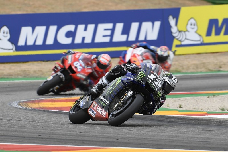 Vinales: Yamaha power deficit to Ducati halted Aragon MotoGP podium