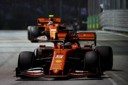 Ferrari considered swapping Vettel and Leclerc during Singapore GP