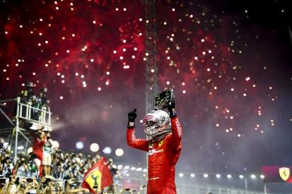 Singapore Grand Prix: Vettel leads unhappy Leclerc in Ferrari 1-2