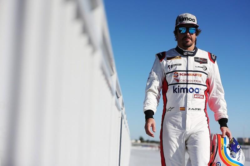 Fernando Alonso using Daytona 24 Hours to test endurance enjoyment