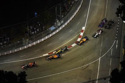 Sainz reckons Hulkenberg regrets Singapore GP first-lap move