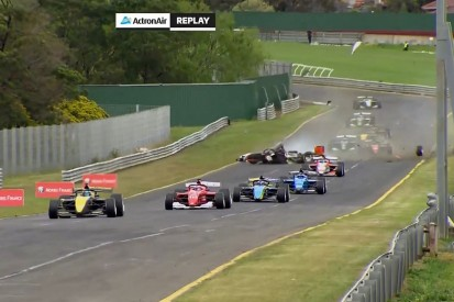 Big crash curtails first event for Australia's new S5000 series