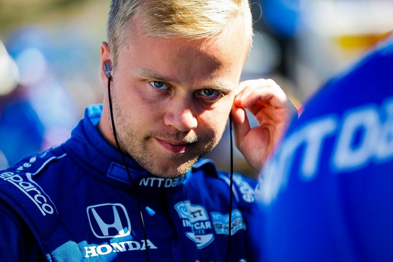 """Felix Rosenqvist suggests IndyCar officials are """"against"""" him"""
