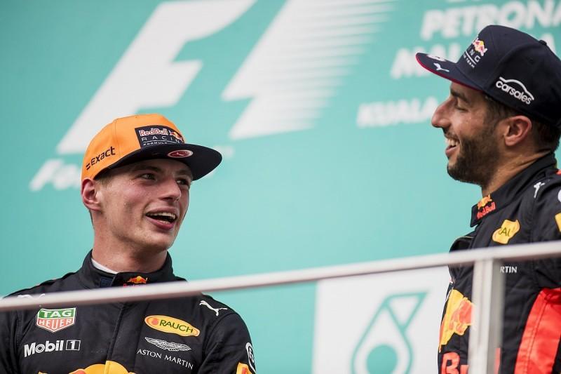 Ricciardo: Red Bull F1 team-mate Verstappen shows more respect to rivals