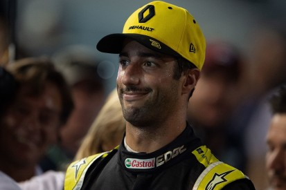 Ricciardo disqualified from Singapore qualifying after MGU-K spike