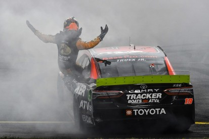 Richmond NASCAR: Martin Truex Jr wins despite being sent spinning