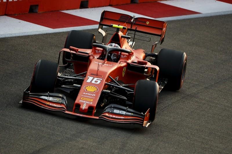 Leclerc puts Ferrari on top in Singapore Formula 1 FP3