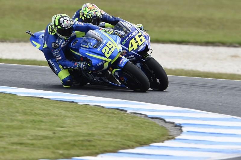 Rival MotoGP makes support Suzuki regaining technical concessions