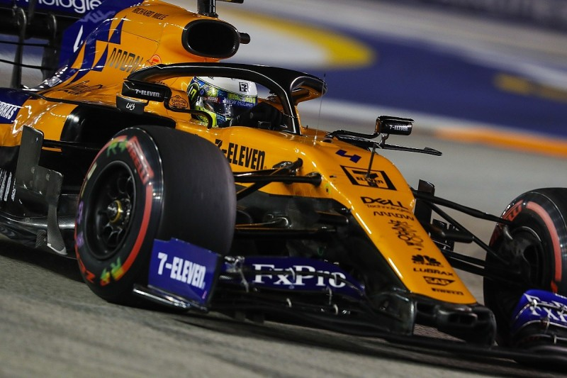 """Norris: """"Brain fade"""" resulted in """"awful"""" Singapore F1 Q3 lap"""