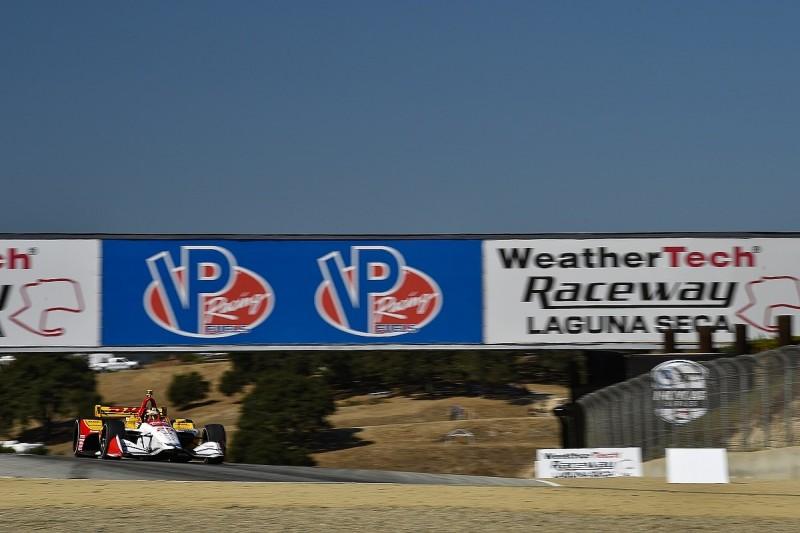 Laguna Seca IndyCar: Ryan Hunter-Reay fastest on Friday