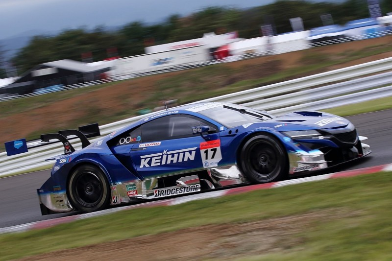 Honda 1-2 in SUPER GT qualifying, Button and Yamamoto on front row