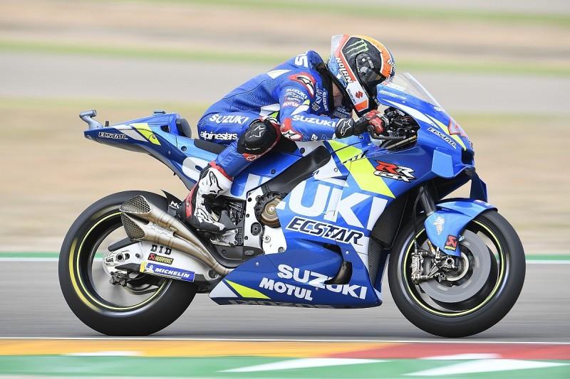 Rins fastest in drying Aragon MotoGP FP3
