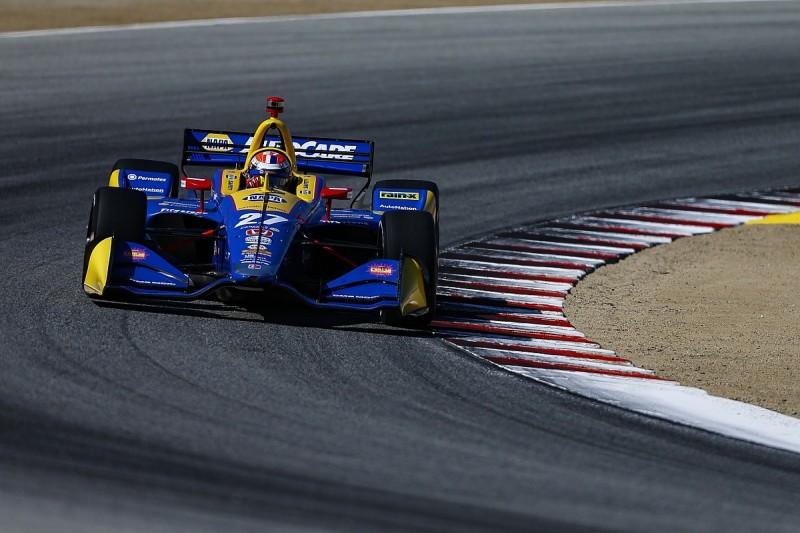Rossi fears Laguna Seca qualifying will decide IndyCar title