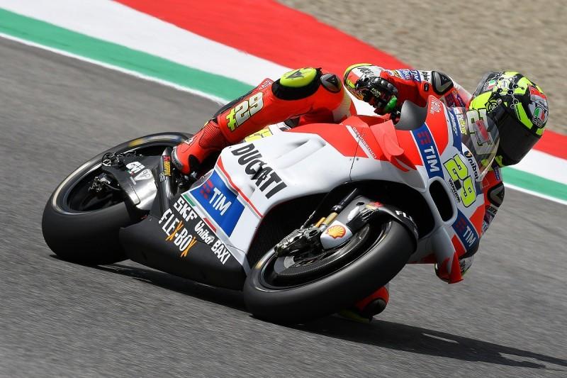 Mugello MotoGP: Andrea Iannone leads second practice for Ducati
