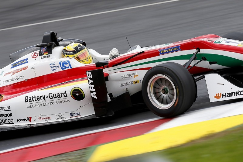 Prema's Gunther on F3 Red Bull Ring pole after Eriksson penalty